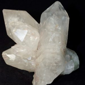 Quartz Cluster with Rainbow windows