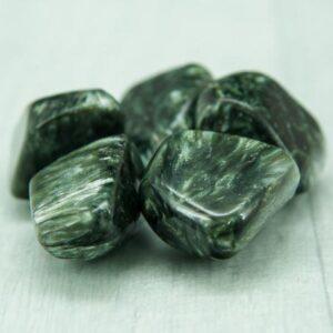 Seraphinite Tumbled Stones