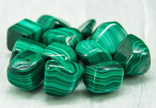 Malachite Tumble Stones