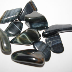 Blue Tigers Eye Tumbled Stones