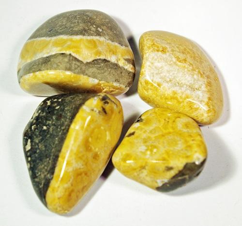 Orange Natrolite