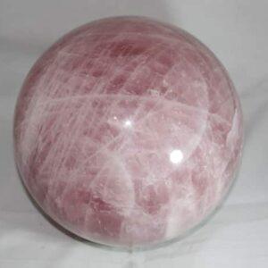 Large Rose Quartz Sphere