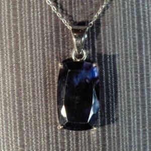 Blue Fluorite Pendant