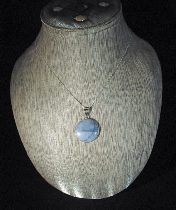 Owyhee Blue Opal Pendant