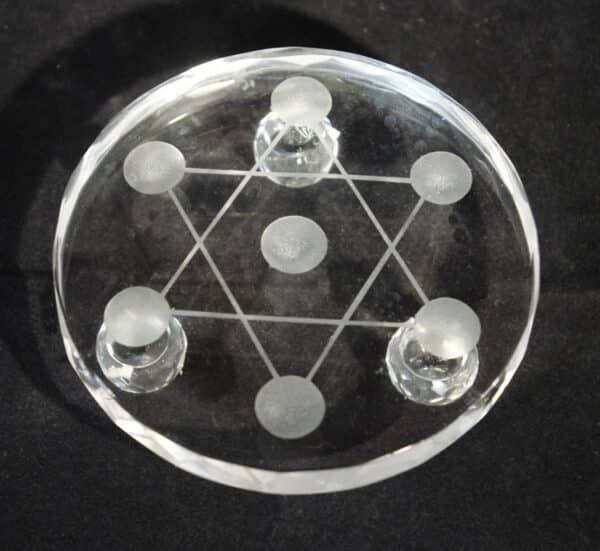 Hexagram Star Gridding Plate