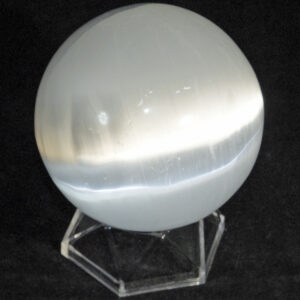 Selenite ( Satin Spar) Sphere.