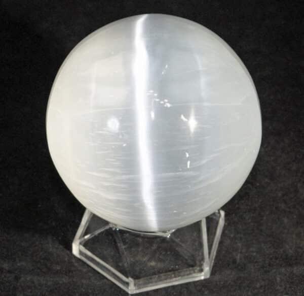 Selenite ( Satin Spar) Sphere.