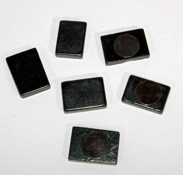 Shungite squares