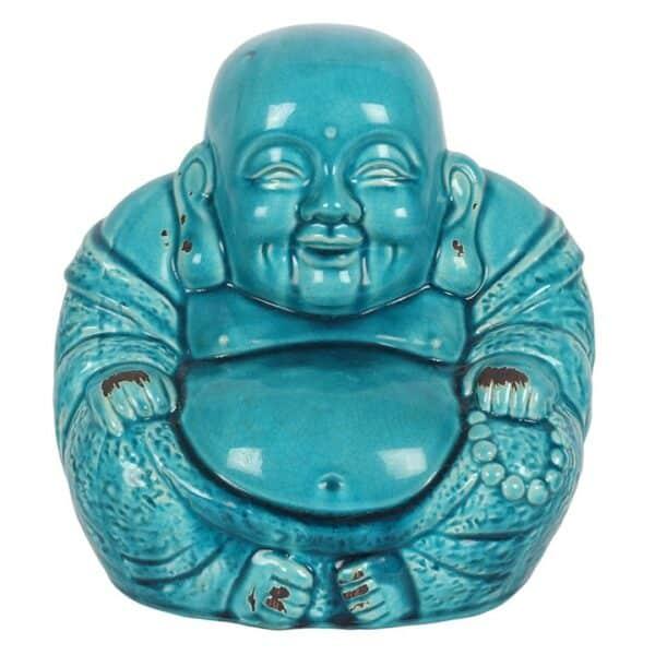 Ceramic Chinese Sitting Buddha