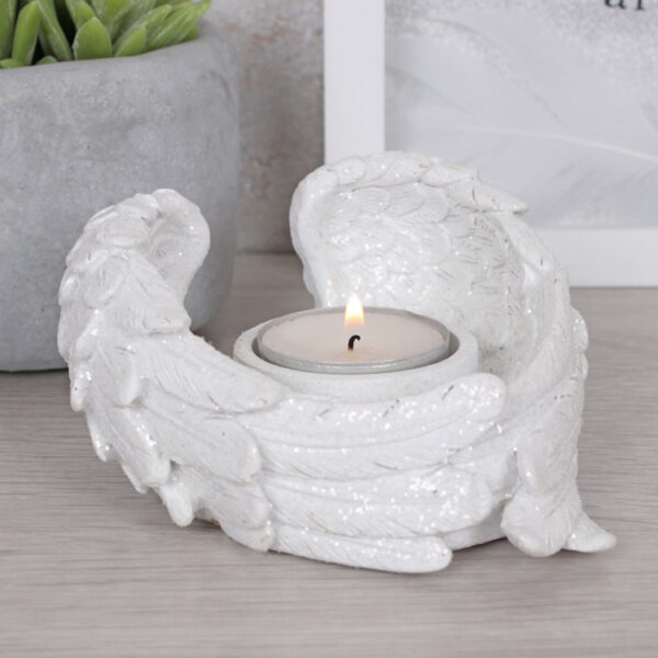 Angel Wing Tealight Holder