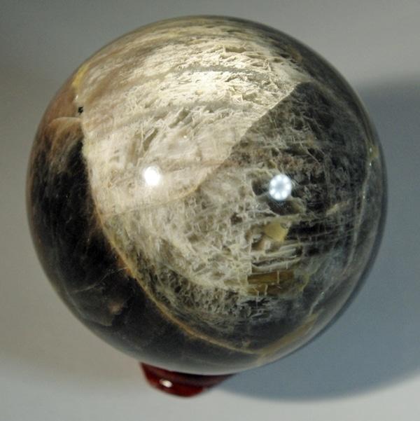 Black Moonstone Sphere (2)