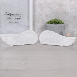 Pair of small standing Angel Wings