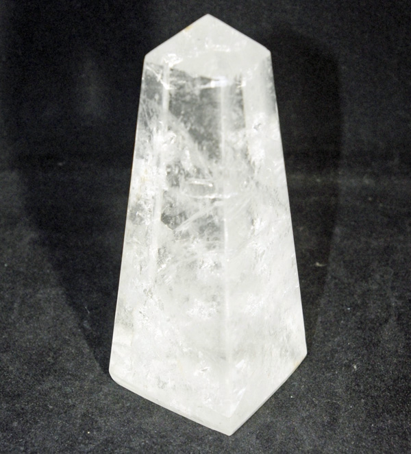 Fire and Ice Quartz Obelisk