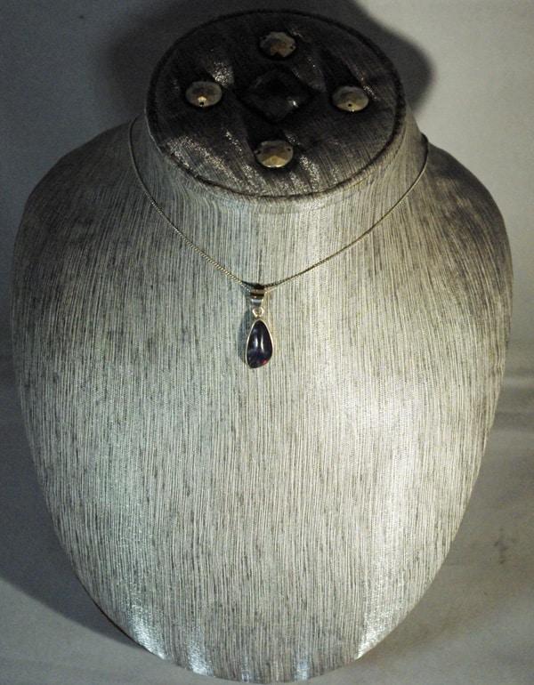 Australian Fire Opal Pendant