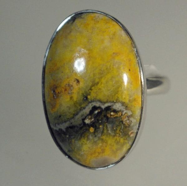 Bumblebee Jasper Ring