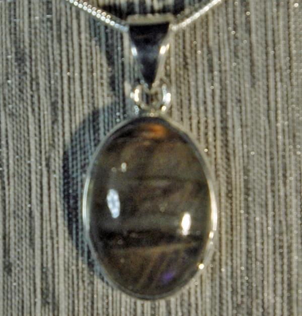 Labradorite Oval Pendant