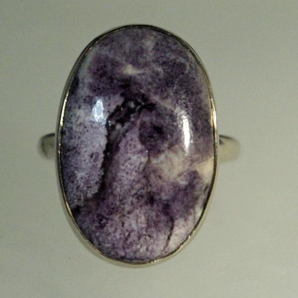 Tiffany Stone (Bertrandite) Ring.