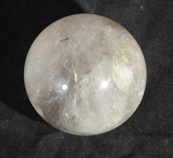 Clear Fluorite Sphere.