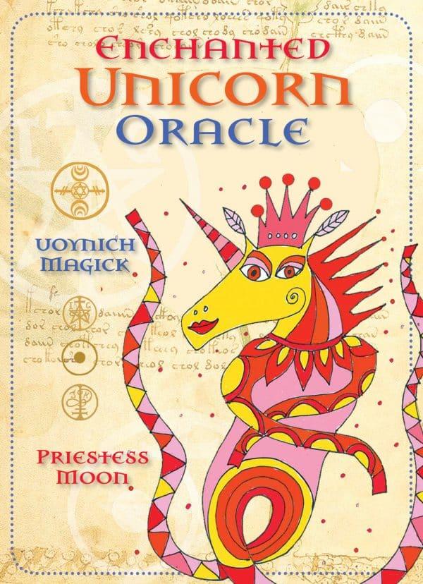 Enchanted Unicorn Oracle. Cards.